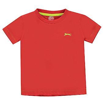 Slazenger poikien tavallinen T-paita Crew Neck T-paita tee Top