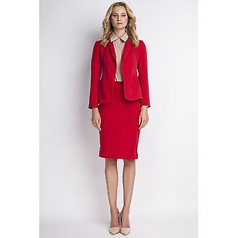 Red lanti jackets & coats