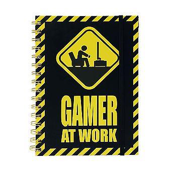 Notebook-Gamer at Work, A5