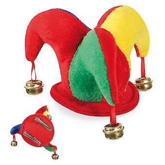Fool's Cap Bells Carnevale Gufo Specchio