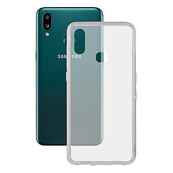 Mobiele cover Samsung Galaxy A10s KSIX Flex TPU Transparant