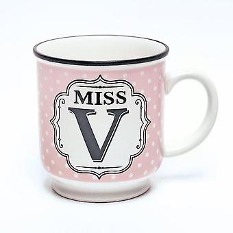 Historia & Heraldry aakkoset muki-Miss V