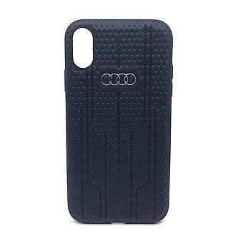 Audi Backcover Hoesje iPhone XR - Zwart