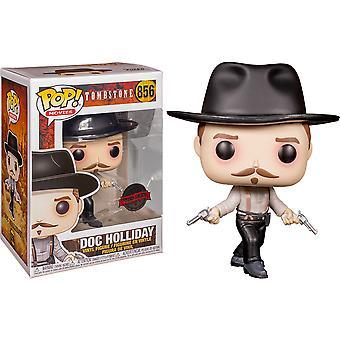 Tombstone Doc Holliday Standoff US Exclusive Pop! Vinyl