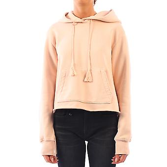 Amiri Y0w02457tesal Kvinder's Pink Bomuld Sweatshirt