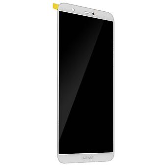 LCD Display for Huawei P Full White Compatible Touchscreen Pack