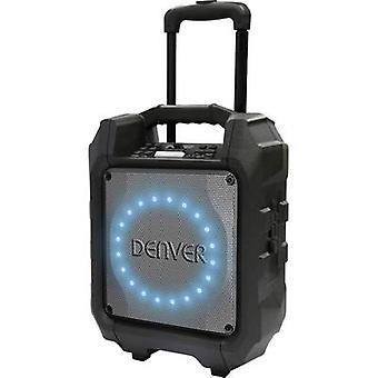 Denver TSP-305 Bärbar PA-högtalare 16,5 cm 6,5 tum uppladdningsbar 1 st
