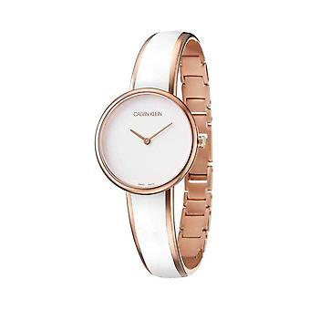 Calvin Klein K4E2N616 Seduce Quartz White Dial  Ladies Watch