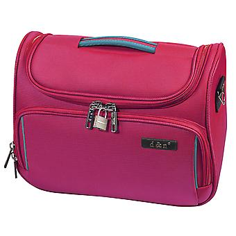 d&n Travel Line 7904 Beautycase 33 cm, Pink