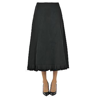'S Max Mara Ezgl137062 Femme-apos;s Jupe en polyester noir