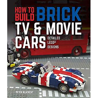 How to Build Brick TV and Movie Cars - Detailed LEGO Designs by Peter