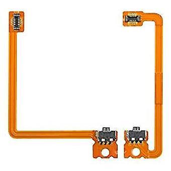 Left Right L/R Switch Shoulder Trigger Button Flex Cable Set for Nintendo 3DS XL