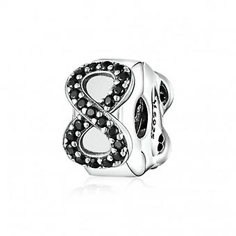 Sterling Silver Clip Infinity - 6623