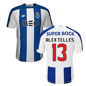 2019-2020 FC Porto Home Football Shirt (Alex Telles 13)