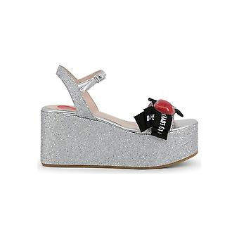 Love Moschino - shoes - wedge pumps - JA16188I07JH_290B - ladies - silver,black - 35
