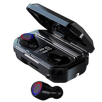 TWSブルートゥースヘッドフォン、M12 - ブラック