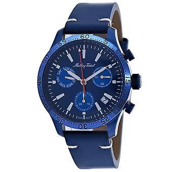 Mathey Tissot Hombres's Tipo 22 Reloj de marcación azul - H1822CHLBU