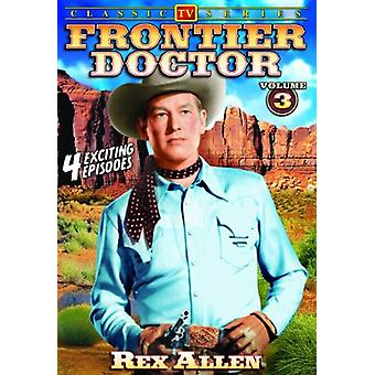 Frontier Doctor: Vol. 3 [DVD] USA tuonti
