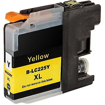 RudyTwos Replacement for Brother LC-225XLY Ink Cartridge Yellow Compatible with DCP-J132W, DCP-J152W, DCP-J172W, DCP-J552DW, DCP-J752DW, DCP-J4110DW, MFC-J245, MFC-J470DW, MFC-J650DW, MFC-J870DW, MFC-