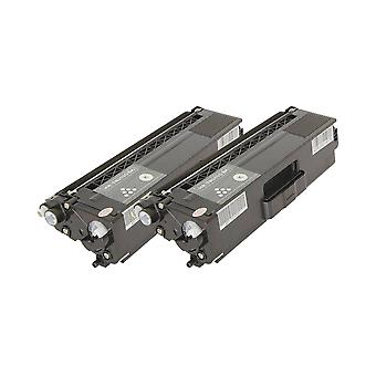 RudyTwos 2x Replacement for Brother TN329BK Toner Unit Black (Extra High Yield) Compatible with HL-L9200CDWT, L9200CDW, MFC-L9550CDW (NA), HL-L8350CDW, L9200CDWT, DCP-L8450CDW, MFC L8850CDW, L9550CDWT