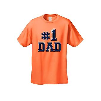 Men's You Know It They Know It We All Know It #1 dad camiseta