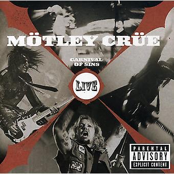 Motley Crue - karneval af synder Live [CD] USA import