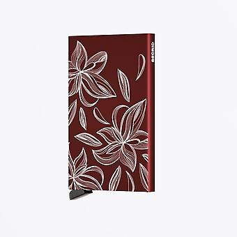 Secrid  - Laser Card Protector - Magnolia Bordeaux