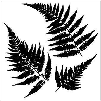 The Crafter's Workshop Ferns 6x6 Inch Stencil