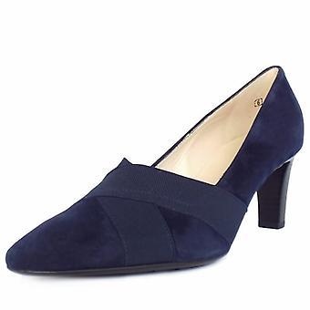 بيتر كايزر مالانا النساء & s أحذية محكمة كعب الأوسط في سويدي البحرية