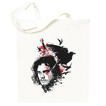Game Of Thrones Jon Snow Nights Watch Totebag