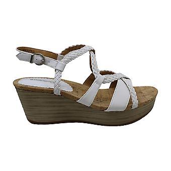 BareTraps Mairi Women's Sandals & Flip Flops White Size 10 M (BT24902)
