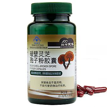Shell Broken Ganoderma Lucidum Spore Powder Reishi Mushroom Extract Capsules