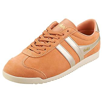 Gola Bullet Pearl Womens Fashion Trainers in Peach