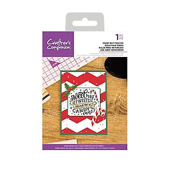 Crafter's Companion Sweet But Twisted Clear Stamps