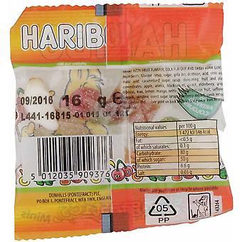 HARIBO Tangfastics 1.6kg dulciuri vrac, 100 x 16g