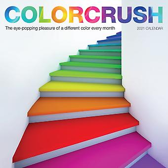 2021 Colorcrush Wall Calendar by Workman Calendars