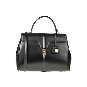 Céline Ezgl076049 Women's Black Leather Handbag