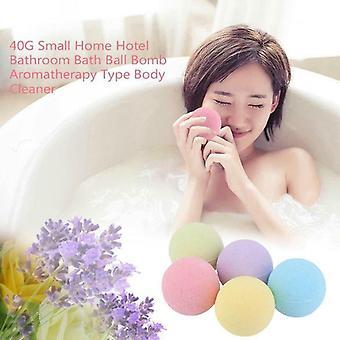 Piccole dimensioni Natural Organic Bathbombs Palle per la pelle sbiancamento Facilità e Relax Stress - Doccia a bolle per idratare la pelle