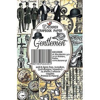 Decorer Gentlemen Paper Pack (7x10.8cm) (M47)