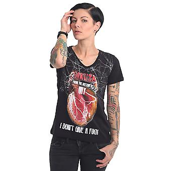 YAKUZA Women's T-Shirt My Heart V-Neck