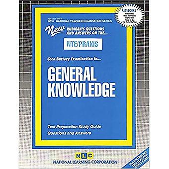 General Knowledge : National Teacher Examination/Core Battery (Nc-8)