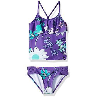 Kanu Surf Big Girlsă Charlotte Flounce Tankini Beach Sport 2-Piece Costum de baie, ...