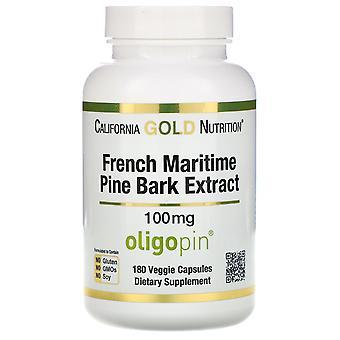 California Gold Nutrition, French Maritime Pine Bark Extract, Oligopin, Antioxid