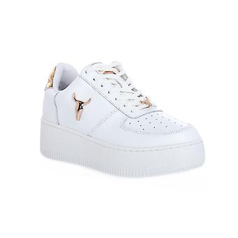Windsor smith rich good white gold sneakers fashion