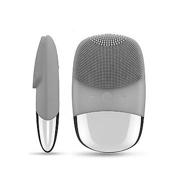 Vibration Facial Cleansing Brush - Mini Electric Sonic Cleanser, Waterproof