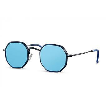 نظارات شمسية Unisex مستطيلة كامل مؤطرة القط. 3 أزرق/أزرق