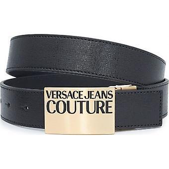 Versace Jeans Couture Ters Çevrilebilir Logo Deri Kemer