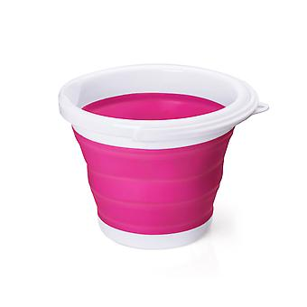 Portable And Space Saving Folding Bucket