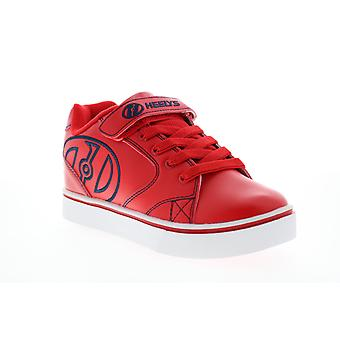 Heelys Vopel X2  Big Kids Red Lace Up Lifestyle Sneakers Shoes