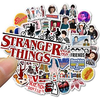 Stranger Things Stickers - Waterproof For Skateboard, Snowboard, Motorcycle,